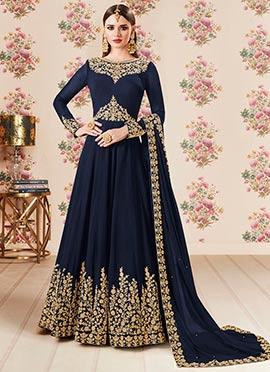 5f073de395e2c Buy Indian Latest Designer Anarkali Salwar Suits Online- Cbazaar