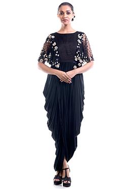 4fbd5146d9942 Buy Draped Dress Indo Western Dresses
