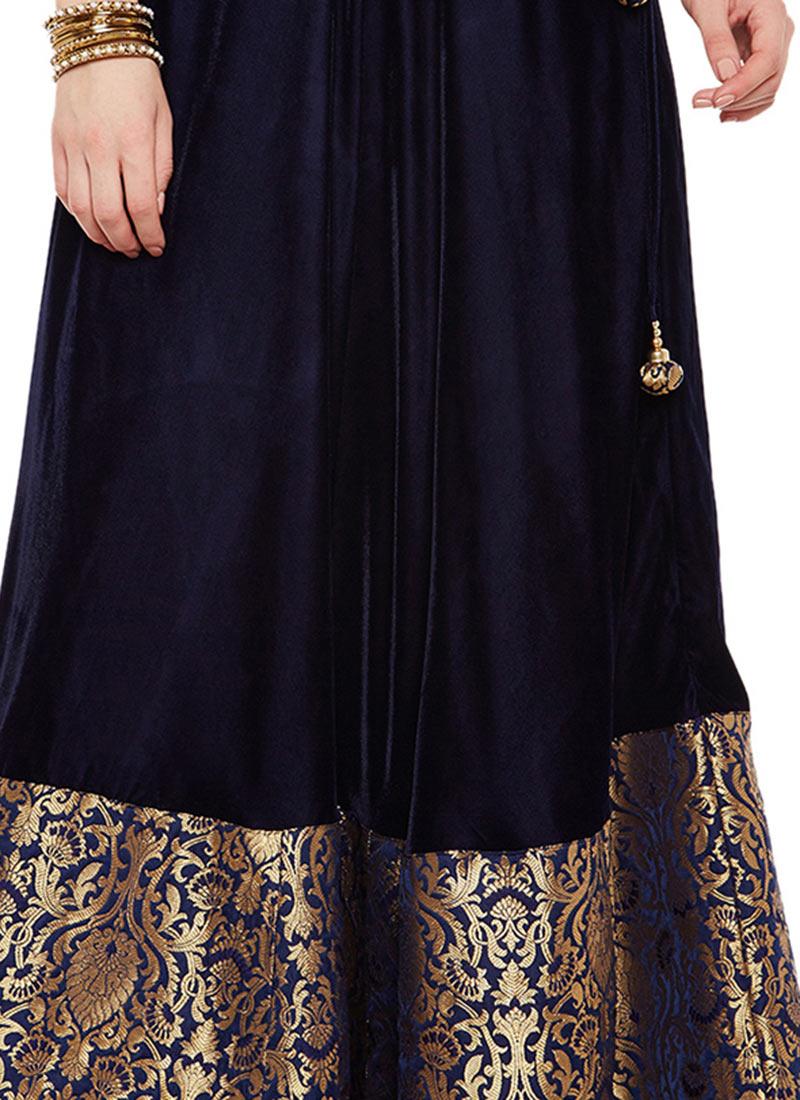 buy navy blue velvet skirt skirt shopping