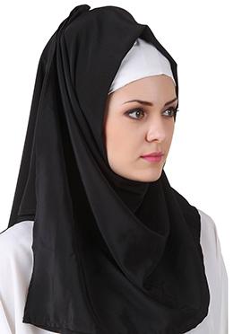 Norhan Black Nida Dubai Hijab