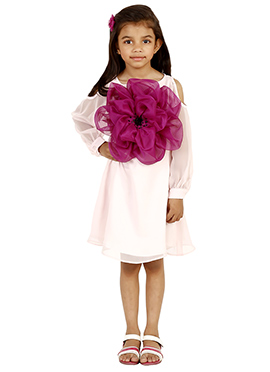 Light pink Cotton Kids Dress
