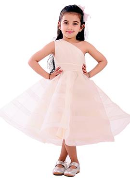 Off White Kidology One Shoulder Pekabbo Dress