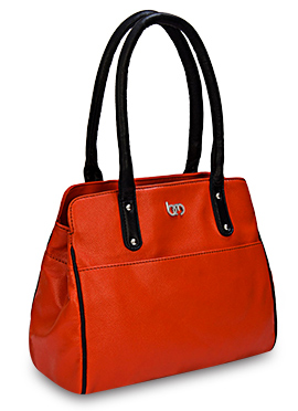Orange Bagsy Melone Hand Bag