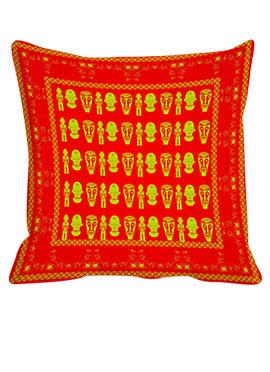 Orange Multi Face Cushion Cover