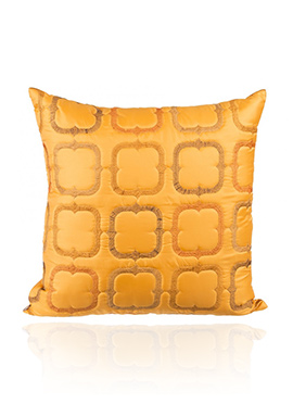 Yellow PolySilk Cushion Cover