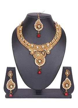 Paisley Tradisiya Necklace Set