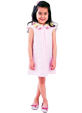 Pale Pink Kidology Flower Dress