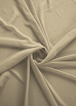 Parsnip Georgette Fabric