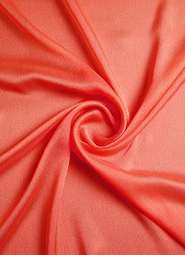 Peach Georgette Fabric