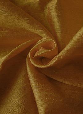 Peanut Butter Brown Art Dupion Silk Fabric