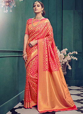 Pink Art Kancheepuram Silk Saree