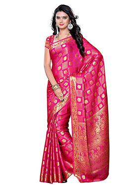Pink Art Kancheepuram Silk Saree