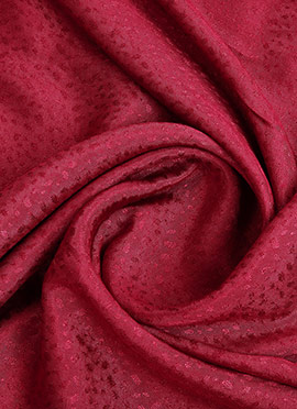 Deep Pink Art Silk Fabric