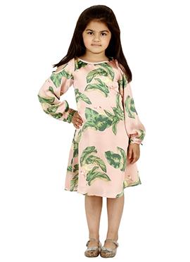 Blush pink Chiffon Kids Dress
