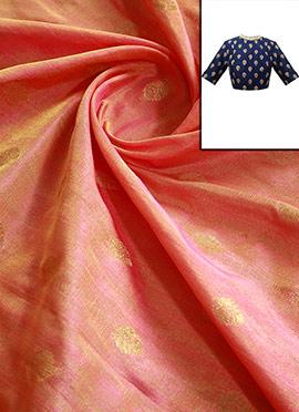 Pink Dual Shade Art Silk Blouse