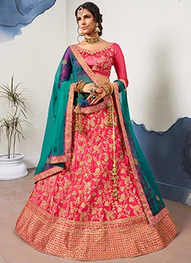 b2467ce47 Lehenga: Buy Ghagra Choli Online & Latest Lehenga Design | Cbazaar