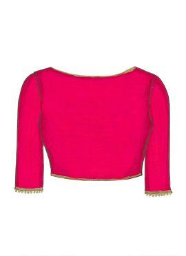 Pink Georgette Blouse