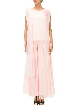 Pink Iraz Palazzo Suit