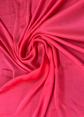 Pink Modal Satin Fabric