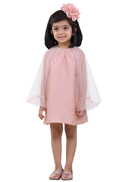 Pink Tafetta Kids Wear