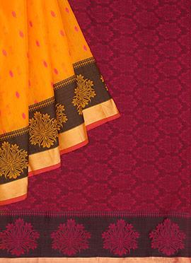 Pothys Kancheepuram Pure Silk Saree
