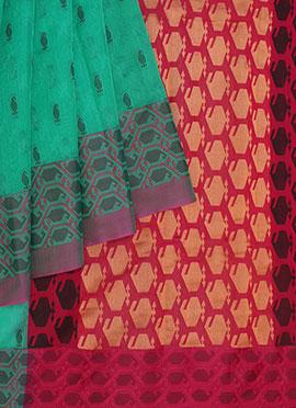 Pothys Pure Handloom Silk Kancheepuram Saree