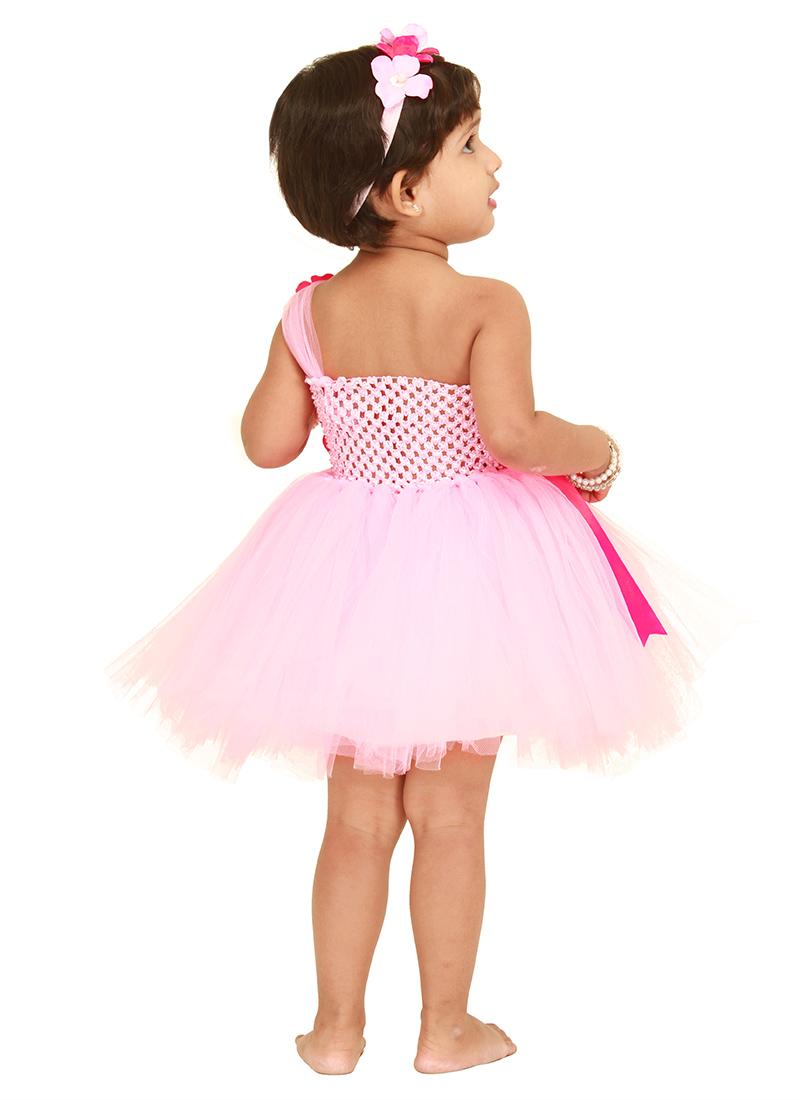 Buy Baby Pink Kids Tutu Dress girls dress line Shopping