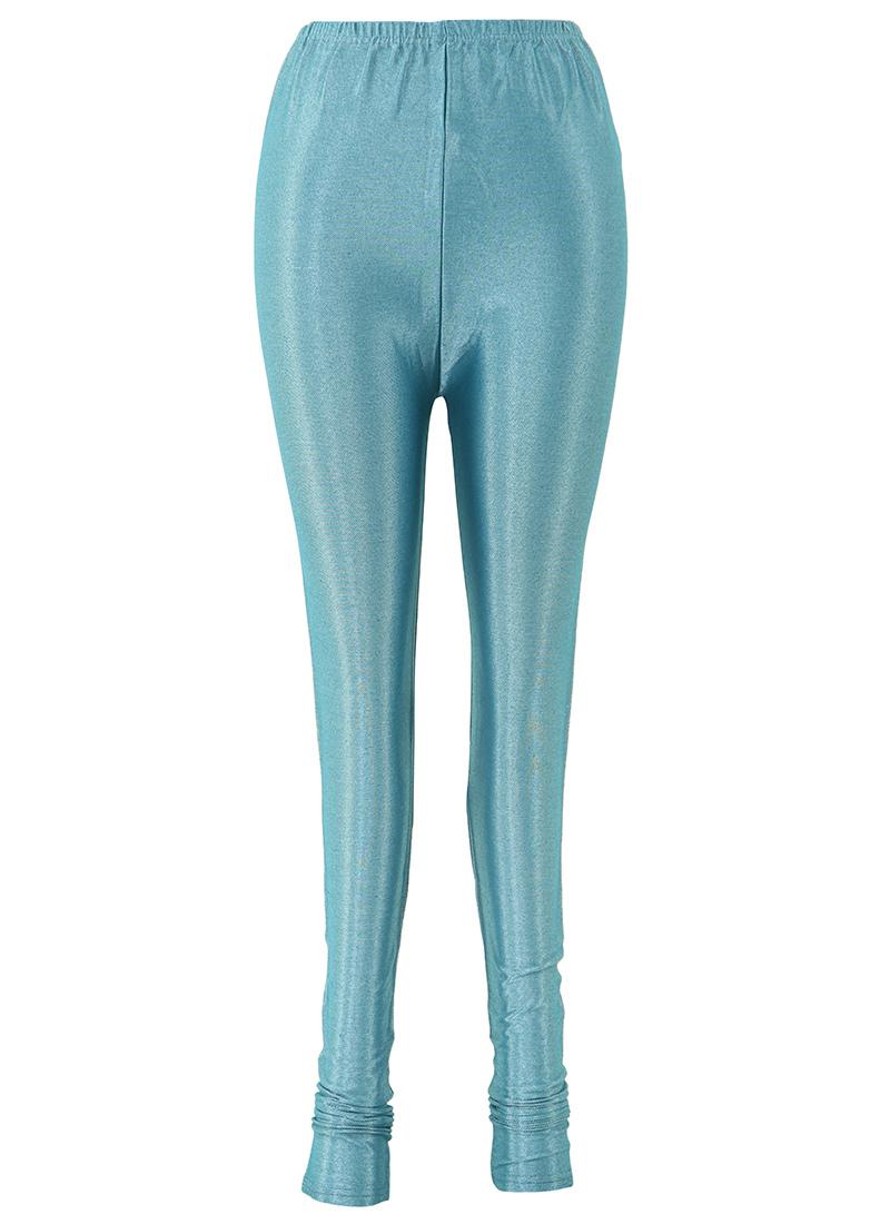 buy teal blue lycra leggings leggings online shopping. Black Bedroom Furniture Sets. Home Design Ideas