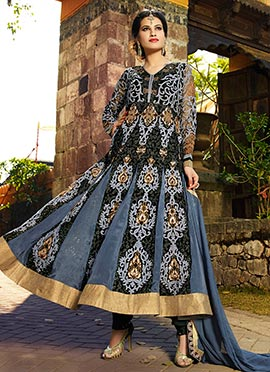 Pure Georgette Ankle Length Anarkali Suit