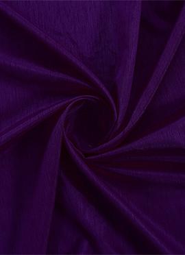 Purple Acai Dupion Silk Fabric