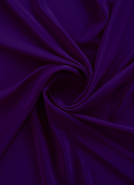 Purple Crepe Fabric