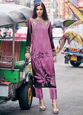 33b3dd87e0 Buy Crepe Salwar Kameez Online - Shop Latest Indian Crepe Salwar ...