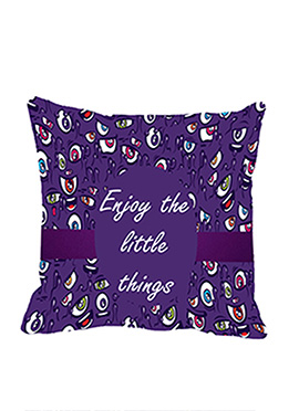 Purple Little Things Cushion Cover