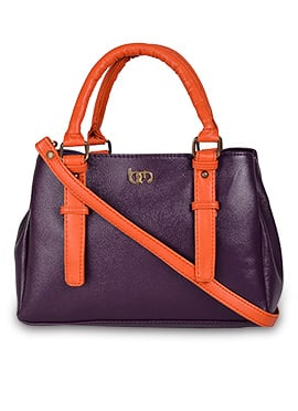 Purple N Orange Bagsy Malone Hand Bag