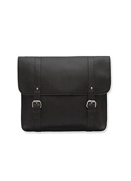 Purseus Deep Brown Leather Satchels