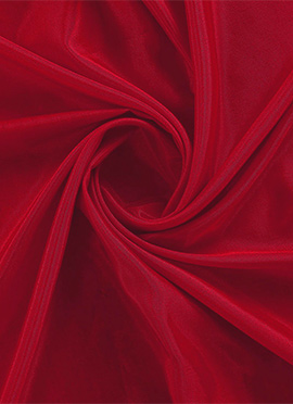 Racing Red Santoon Fabric