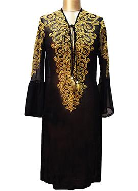Rajdeep Ranawat Black Designer Tunic