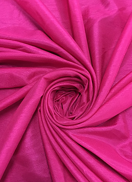 Rani Pink Art Dupion Silk Fabric