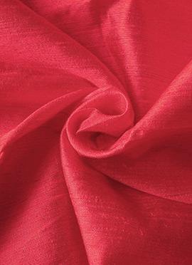 Rani Pink Art Dupion Silk Fabric