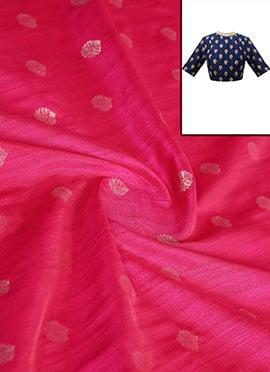 Rani Pink Art Silk Blouse