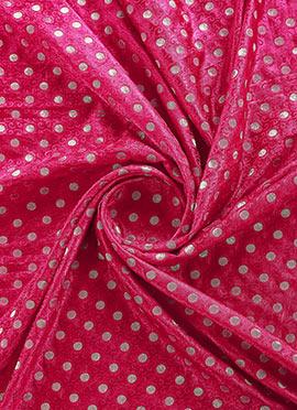 Rani Pink Art Silk Fabric