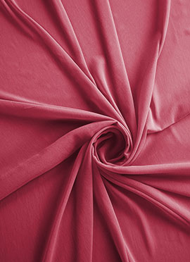 Raspberry Sorbet Georgette Fabric