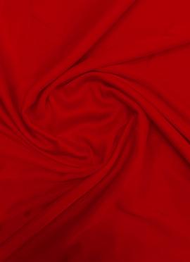 Red Modal Satin Fabric
