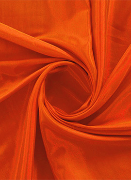 Red Orange Santoon Fabric