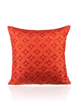 Red PolySilk Cushion Cover