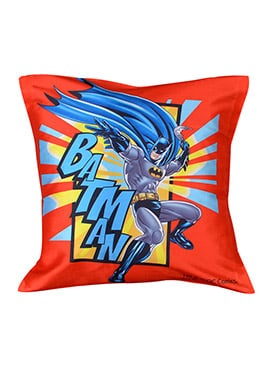 Orange Warner Brother Batman Cushion Cover
