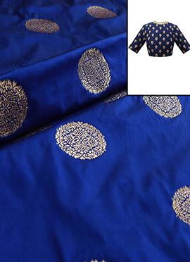 Royal Blue Art Silk Blouse