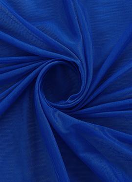 Royal Blue Opal Net Fabric