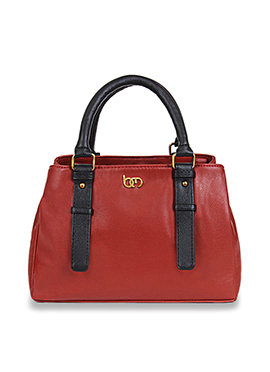 Ruby Red Bagsy Melone Hand Bag