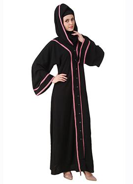 Rumaisa Black Nida Dubai Abaya